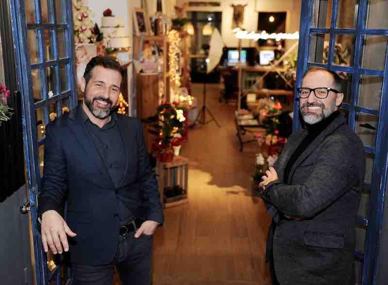 Jose Antonio y Ginés de Algo Azul. Photo by GIA Studio.