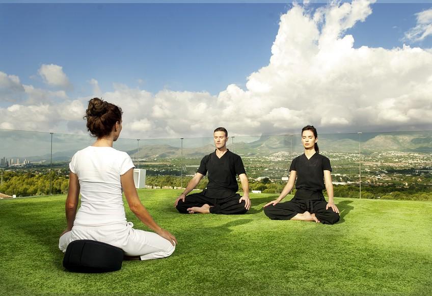 SHA Meditation class