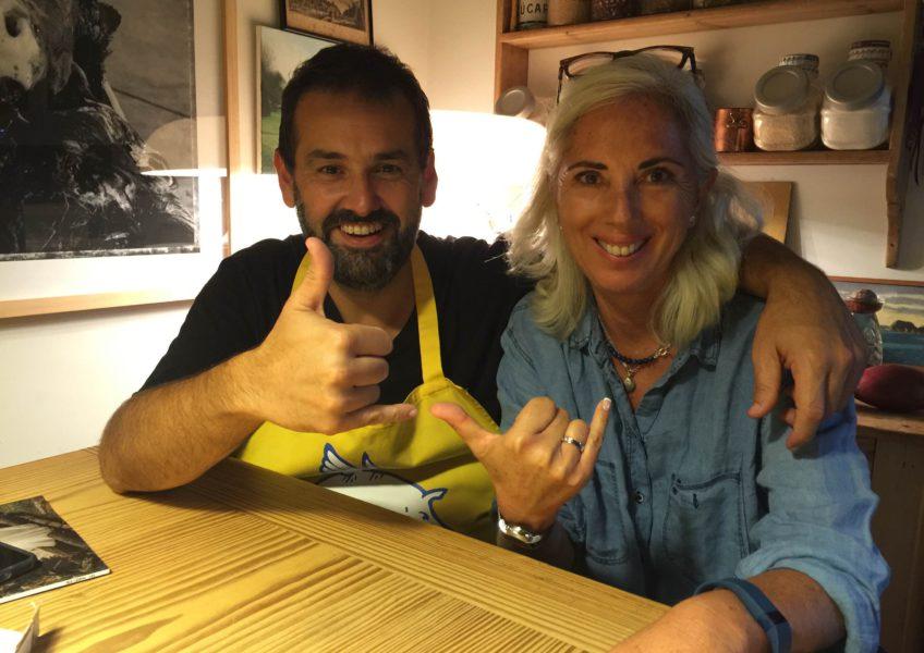 David De Jorge: ¡Entusiasmo En La Cocina!