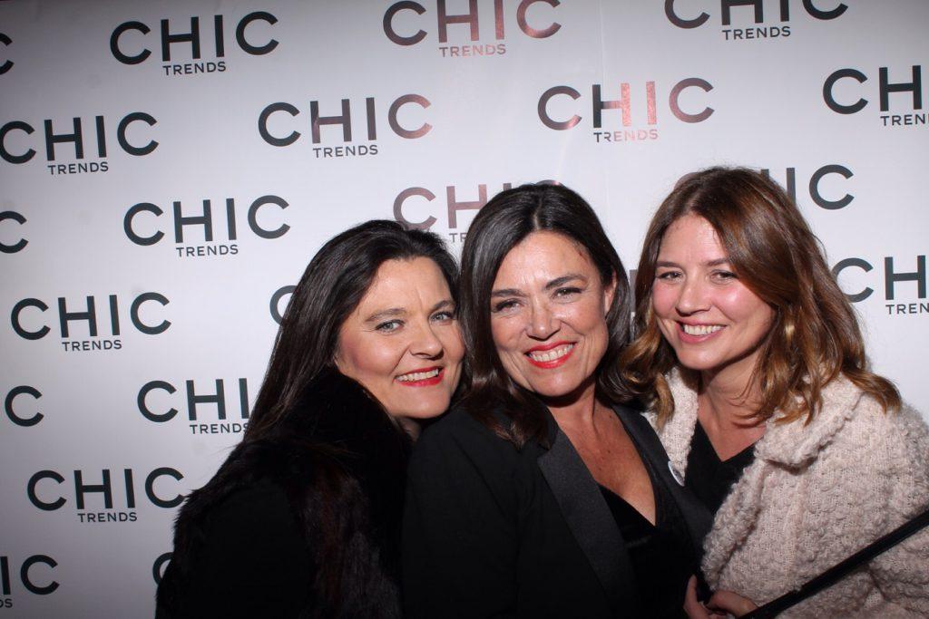 Adelina Planelles, Isabel Planelles y Cristina García.