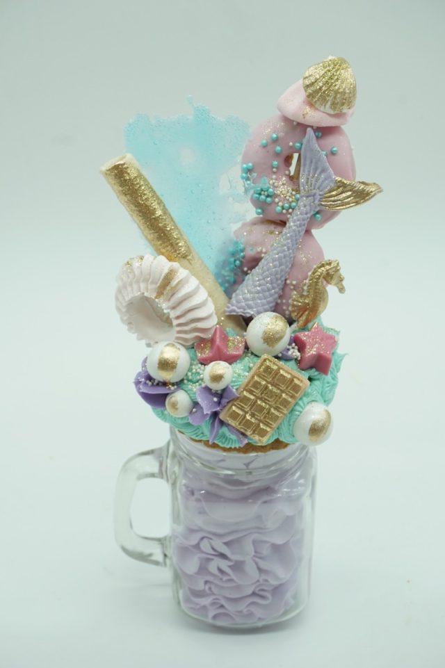 Milkshake: este diseño exclusivo de Caperucita con cremas de sabores...una explosión que despertará tus sentidos.