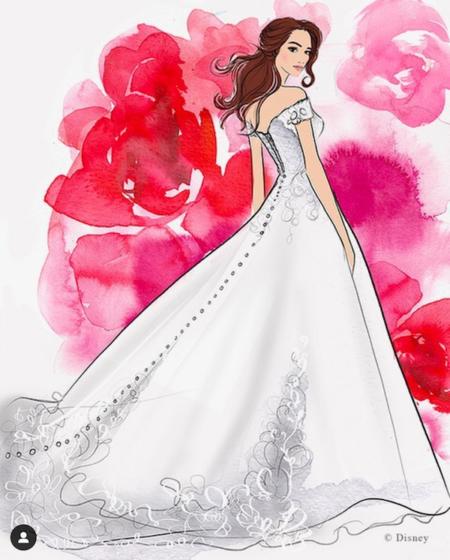 Vestidos de novia inspirados en las princesas Disney - Chic Trends Magazine