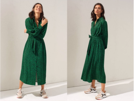 Vestidos y Sneakers H&M - Chic Trends Magazine