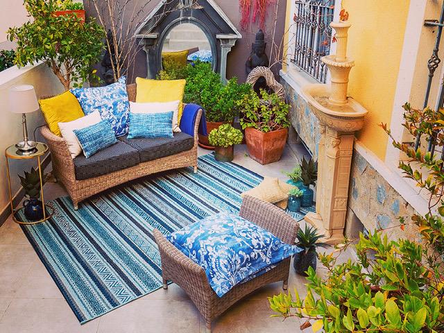 Especial decoración terrazas