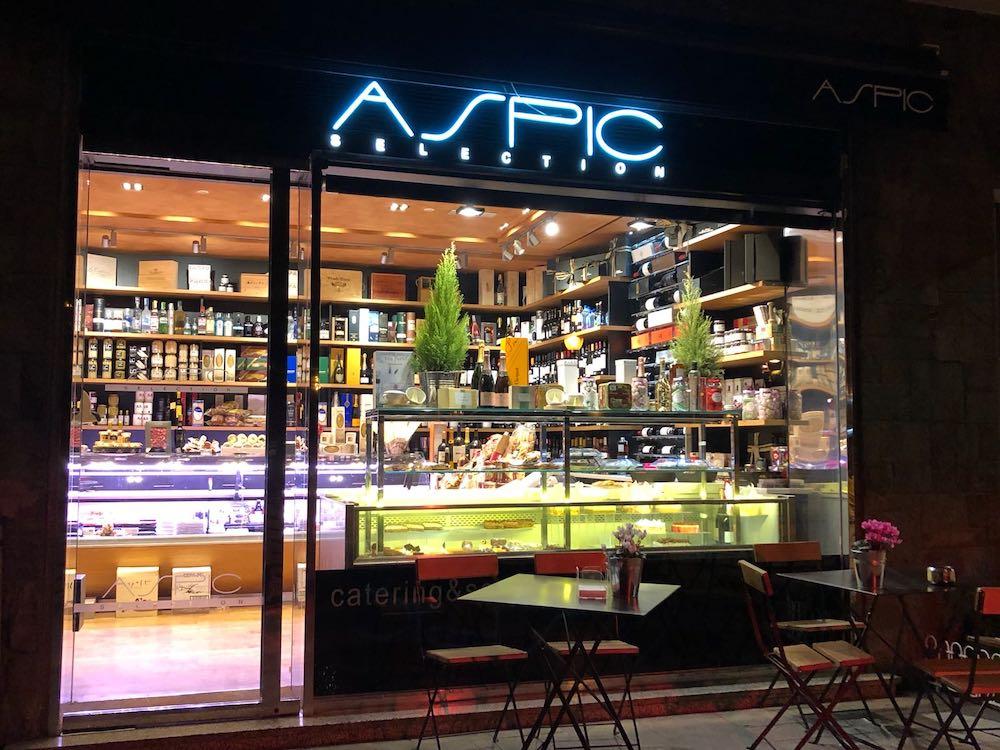 Desayunos y comidas a domicilio ASPIC